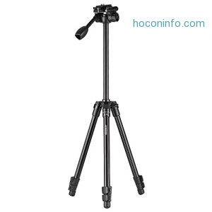 ihocon: Andoer Aluminum Alloy Tripod with Q08 Rocker Arm Ball Head 相機三腳架