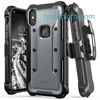 ihocon: iPhone X Case, Military Grade Shock Absorption軍用級防震手機套