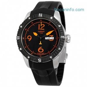 ihocon: TISSOT天梭男錶 T-Navigator Automatic Black Dial Men's Watch T0624301705701