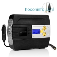 ihocon: DBPOWER 12V DC Auto Premium Digital Tire Inflator電動輪胎打氣機