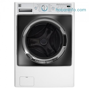 ihocon: Kenmore Elite 41002 4.5 cu. ft. Front Load Combination Washer/Dryer in White, includes delivery and hookup