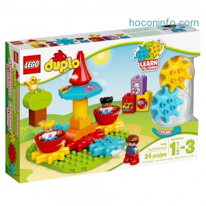 ihocon: LEGO DUPLO My First Carousel 10845 Educational Toy, Large Building Blocks