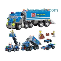ihocon: 163pcs DIY Transport Dumper Truck