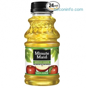 ihocon: Minute Maid Juice, Apple, 10 Ounce (Pack of 24)