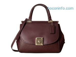 ihocon: COACH Mixed Leather Drifter Carryall