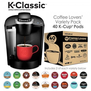 ihocon: Keurig K55/K-Classic Coffee Maker + 40ct Variety Pack of K-Cups (ship separately)