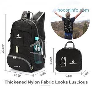 ihocon: NEEKFOX Lightweight Packable Backpack,35L可折疊輕便背包