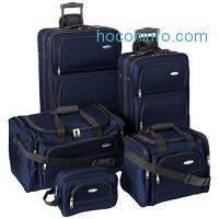 ihocon: Samsonite 5 Piece Nested Luggage Set (Navy)