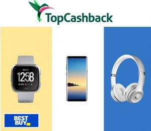TopCashBack: 免費$25 Best Buy商品