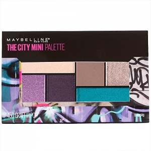 ihocon: Maybelline Makeup The City Mini Eyeshadow Palette, Graffiti Pop Eyeshadow, 0.14 oz 美眼影彩板