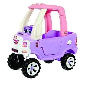 ihocon: Little Tikes Princess Cozy Truck Ride-On公主舒車