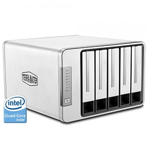 ihocon: TerraMaster F5-420 NAS Server 5-Bay Intel Quad Core 2.0GHz 4GB RAM Network RAID Storage for Small/Medium Business (Diskless)