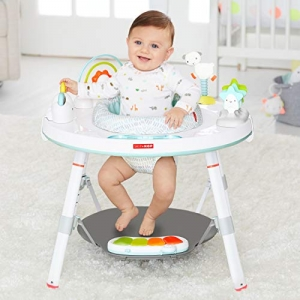 ihocon: Skip Hop Baby's View 3-Stage Activity Center, Silver Lining Cloud, 4 Months 嬰兒3階段活動中心
