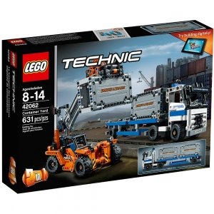 ihocon: LEGO Technic Container Yard 42062 Building Kit (631 Piece)