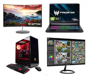 [Amazon 今日特賣] Dell, HP, BenQ, CyberpowerPC, Acer, Sceptre, ViewSonic電腦及螢幕 特價優惠