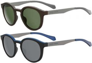 ihocon: Hugo Boss 偏光太陽眼鏡 Polarized Men's Vintage Round Sunglasses