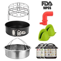 ihocon: Essieny Pressure Cooker Accessories Set for Instant Pot Accessories 5,6,8 QT (10 pcs)壓力鍋配件
