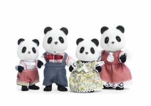 ihocon: Calico Critters Wilder Panda Bear Family熊猫家庭