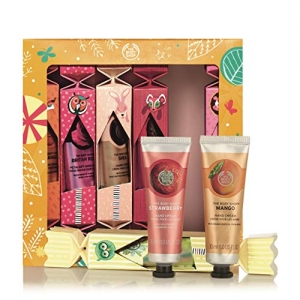 ihocon: The Body Shop Hand Cream Crackers Gift Set 護手霜禮盒