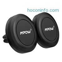 ihocon: Mpow Magnetic Phone Holder for Car, 2 PACK汽車磁性手機固定器