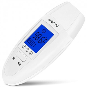 ihocon: ANKOVO Medical Digital Forehead and Ear Thermometer前額/耳朵溫度計