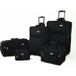 ihocon: Samsonite 5 Piece Nested Luggage Suitcase Set
