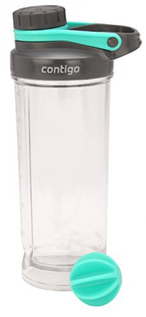 ihocon: Contigo Shake & Go Fit Twist Lid Shaker Bottle, 28 oz 雪克瓶