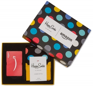 ihocon: 買Amazon.com Gift Card 就送 Happy Socks - Limited Edition!