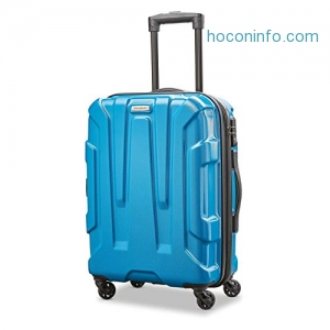 ihocon: Samsonite Centric Hardside 20 Carry-On Luggage, Caribbean Blue硬殼行李箱