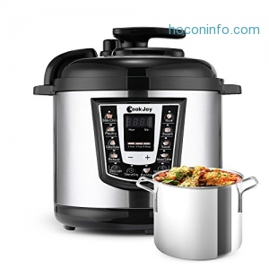 ihocon: Multifunction 6 Litre 8-in-1 Programmable Pressure Cooker多功能電子壓力鍋