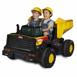 ihocon: Tonka Mighty Dump Truck 12-Volt Battery-Powered Ride-On 電動車