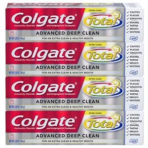 ihocon: Colgate Total Advanced Deep Clean Toothpaste, 5.8 Ounce, 4 Count 高露潔深層清潔牙膏