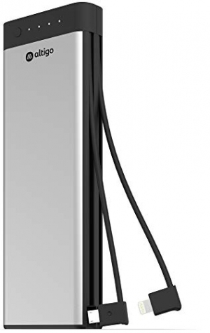 ihocon: Altigo 20100mAh Power Bank – with Integrated Micro USB and Apple Compatible Cables 行動電源/充電寶