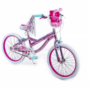 ihocon: Huffy 20 Mirabelle Girls' Bike, Pink 女孩自行車