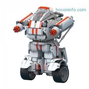 ihocon: Mi Robot Builder, Building and Coding Kit, Remote Control Programmable Toy, 3 Modes In 1, 978 Pieces