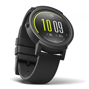 ihocon: Ticwatch E most comfortable Smartwatch-Shadow,1.4 inch OLED Display, Android Wear 2.0,Compatible with iOS and Android, Google Assistant 智能錶