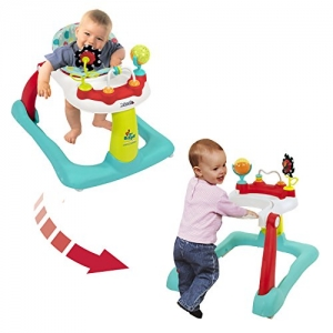 ihocon: Kolcraft Tiny Steps 2-in-1 Activity Toddler and Baby Walker