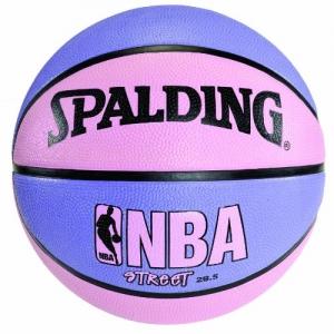 ihocon: Spalding NBA Street Basketball - Pink & Purple - Intermediate Size 6 (28.5) 藍球