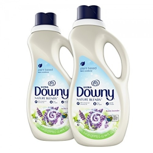 ihocon: Downy Nature Blends Liquid Fabric Conditioner & Softener, Honey Lavender, 2 Count 衣物柔軟劑