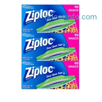 ihocon: Ziploc Snack Bags, 270 Count