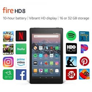 [Prime專屬] Amazon Fire HD 8 Tablet $49.99免運(原價$79.99, 38% Off)