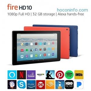 ihocon: Fire HD 10 Tablet with Alexa
