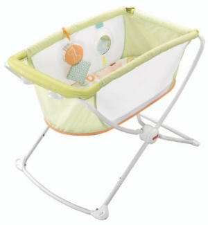 ihocon: Fisher-Price Rock 'n Play Portable Bassinet 便攜式嬰兒床