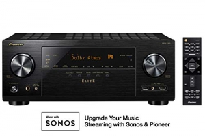 [Amazon今日特賣] Pioneer 9.2 Channel 4k UltraHD Network A/V Receiver $369.99免運(原價$499)