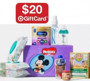 [國慶特賣] Target: 嬰兒用品買$100送$20 gift card