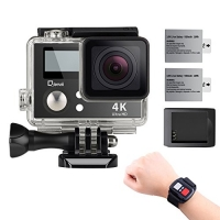 ihocon: Qipexeii 4K Wifi Sports Action Camera防水運動相機