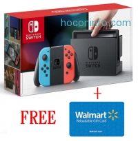 ihocon: Nintendo Switch Console + $35 Walmart Gift Card