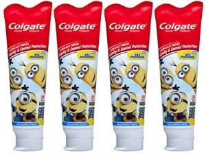 ihocon: Colgate Kids Minions Fluoride Toothpaste, 4.6 Ounce, 4 Count 高露潔含氟兒童牙膏 4個