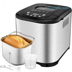 ihocon: Aicok 2.2LB Programmable Bread Machine 可程序麵包機
