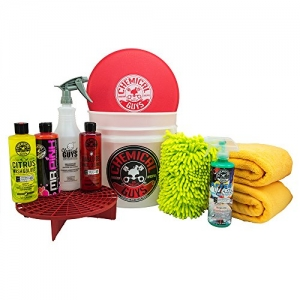 ihocon: Chemical Guys HOL121 Best Car Wash Bucket Kit (11 Items) 洗車組